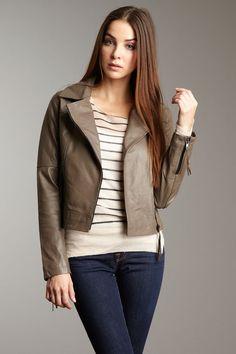 014e742159e My Tribe leather motorcycle jacket. I love the tassels on the sleeve zipper  Кисточки