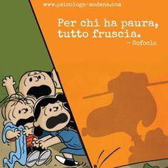 Chi ha paura muore molte volte.  – Monica Orma #aforisma, #paura, #ansia, #panico