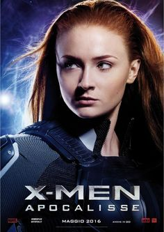 X-Men Apocalypse - Jean Grey. Italian promo poster.