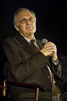Alan Alda  Alda contracted polio in the 1940s during an epidemic. He was just seven years old. Photo credit: Wikipedia
