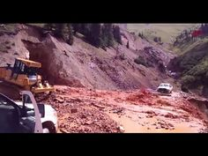 Gold King Mine Spill As It Happened - New Video Shows Toxic Waterfall Gushing Into Animas River ⋆ UFP NEWS