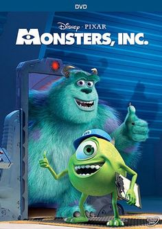 Disney/Pixar® Monster's Inc. Deluxe Edition with Bonus DVD Kid Movies, Family Movies, Great Movies, Movies To Watch, Movies And Tv Shows, Movie Tv, Pixar Movies, Animation Movies, Awesome Movies
