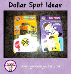 Target Dollar Spot Ideas! Great for Centers.