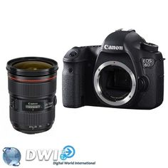 Canon EOS 6D body with kit Canon EF 24-70mm F4 IS USM Lens $2529