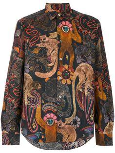 Paul Smith ape print shirt