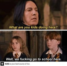 """""""What the devil is going on here?"""" Nobody knows what's going on at Hogwarts..."""