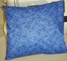 Free Directions to Sew Envelope Back Pillow Covers