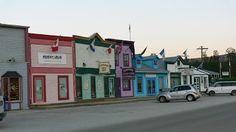 Dawson City-Main Street Main Street, Maine, Mansions, House Styles, City, Home Decor, Decoration Home, Room Decor, Fancy Houses