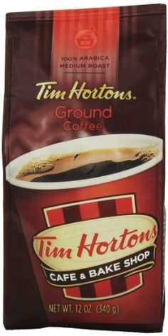 Tim Hortons 100 Arabica Medium Roast Original Blend Ground Coffee 12 Ounce -- Click image to review more details.Note:It is affiliate link to Amazon.