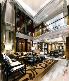Watercolor Illustration Modern