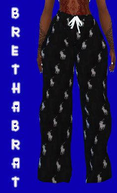 Hi, I'm Bre — HIS POLO PJ PANTS Hey y'all! This is first of many... Sims 4 Teen, Sims Four, Sims 4 Toddler, Sims Cc, Sims 4 Cas Mods, Sims 4 Body Mods, Sims 4 Cc Kids Clothing, Sims 4 Mods Clothes, Sims 4 Traits
