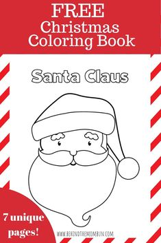 Is your preschooler obsessed with coloring books? Help them practice those coloring skills with these free Christmas coloring books from Behind the Mom Bun. Christmas Traditions Kids, Christmas Cookies Kids, Christmas Crafts For Kids To Make, Christmas Activities For Kids, Kids Christmas, Diy For Kids, Christmas Printables, Easy Coloring Pages, Coloring Books