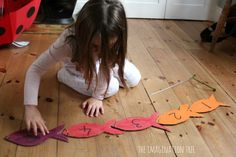 Magnetic Counting Fish Game - The Imagination Tree