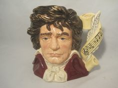 Beethoven Royal Doulton Character Mug D   7021   by MyRedFlamingo,sold