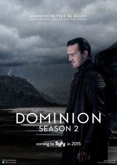#Dominion will return for Season 2! I can't wait!
