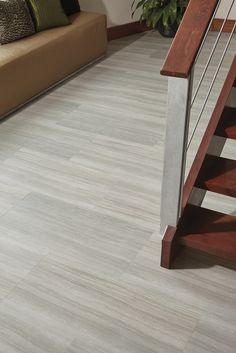 Luxury Vinyl Plank Flooring On Concrete Basement