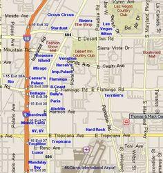 Worksheet. Road map of Las Vegas City Maps Inc 2002 categories navigation