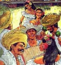 """A 'Parranda"""" is the Puerto Rican version of Christmas caroling with a """"Boricua"""" swag. Family & friends get together for a night of house hopping..."""