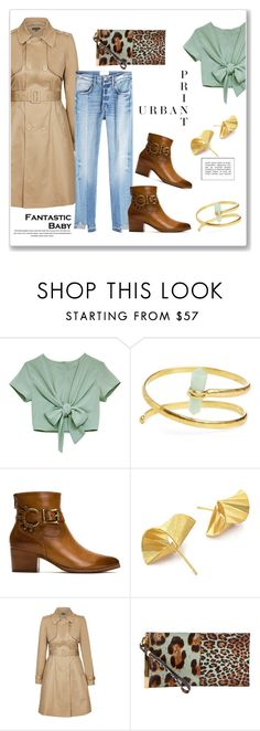 """""""Urban print!"""" by bv-b ❤ liked on Polyvore featuring Natalie B, Frye, S/H KOH, City Chic, Balenciaga and Frame"""