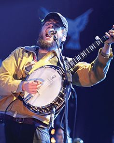 Winston Marshall is the banjo player for the band Mumford and Sons.