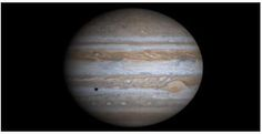 Jupiter - Jupiter is the largest planet in our solar system. Its mass is more than 300 times the Earth's. Jupiter is named after the ancient Roman sky-god, Jupiter.  From: Planets for Kids