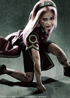 Naruto Live-Action Play Hits the Stage with The Live Spectacle  NARUTO (Haruno Sakura  Ito Yui)