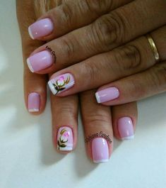 As melhores fotos de Unhas Curtas Decoradas Paws And Claws, Healthy Meals For Two, Breakfast For Kids, Summer Nails, Pretty Nails, Nail Art Designs, Acrylic Nails, Finger, Lily