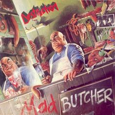 Mad Butcher The Damned (Plasmatics cover) Reject Emotions The Last Judgement Heavy Metal Rock, Power Metal, Heavy Metal Music, Cd Cover Art, Lp Cover, Destruction Band, Classic Album Covers, Metal Albums, Metal Artwork