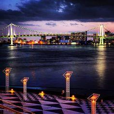Rainbow bridge, Tokyo / レインボーブリッジ - @deepkaoru- #webstagram