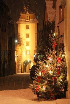 ローテンブルクのクリスマス3 ‐ドイツの絶景・名所‐