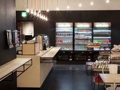 Aschan Deli interior design and branding by BOND, Helsinki store design branding