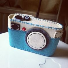 Camera Casing, could also be an iPhone cover.