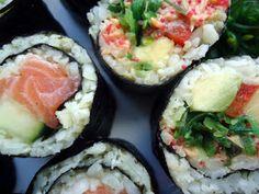 LCHF-bloggen: Sushi på lavkarbovis: Maki