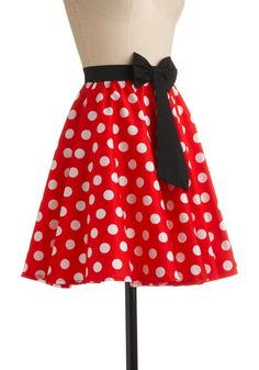 So Animated Skirt from ModCloth, I would wear this to Disney World in a heartbeat!