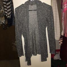 Gray cardigan Good condition Vanity Sweaters Cardigans