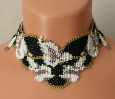 Lily Wonder Weave Necklace. by grazynae on Etsy