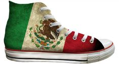 1f1b87a179df16 Viva Mexico Flag pride distressed Custom Print High Top Basketball Kicks  Mens Ladies w  Swarovski Crystal Rhinestone Chucks Sneakers Shoes