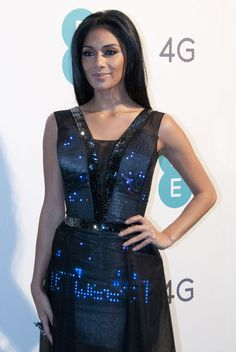 Nicole Scherzinger with Twitter dress by CuteCircuit