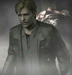 James Sunderland and Lying Figure - Silent Hill 2 Silent Hill Game, Fantasy Pictures, Hello Ladies, Angel Eyes, Sunderland, In The Flesh, Resident Evil, Anime Naruto, Horror