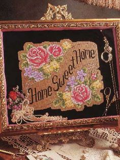 Cross-Stitch - Fruit & Florals - Home Sweet Home I