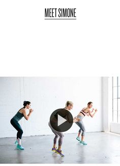 Sweaty Betty presents Body By Simone. Watch the official GF4F fitness video for a high energy full body workout by celebrity trainer Simone De La Rue.