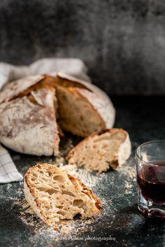 no-knead bread  http://iocomesono-pippi.blogspot.it/2016/02/pane-senza-impasto-homemade-no-knead.html