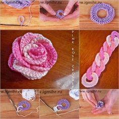 DIY interlocking rose