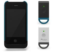 so a case for your phone and a key chain...the keychain finds your phone, the case finds your keys...
