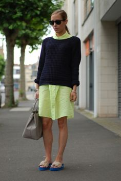 ooh wow - not sure about the sandals but the sweater is great