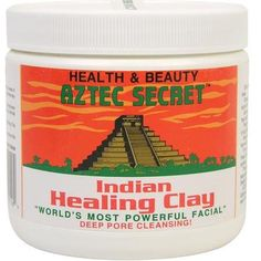 Ancient Aztec Secret $7.95    Mix this with Bragg Apple Cider Vinegar and watch your face change