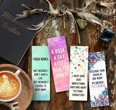 Printable Fangirl Bookmarks Bookmarks for Book Lovers