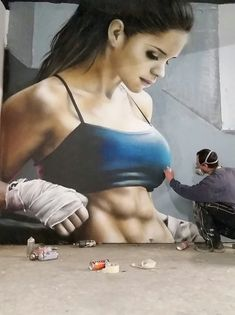 🌹🐉 Objects in mirror are closer than they Appear Murals Street Art, 3d Street Art, Urban Street Art, Best Street Art, Amazing Street Art, Street Art Graffiti, Mural Art, Street Artists, Amazing Art