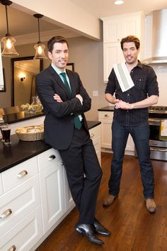 The Property Brothers I absolutely love these truly talented guys! Drew and Jonathan Scott born in Vancouver