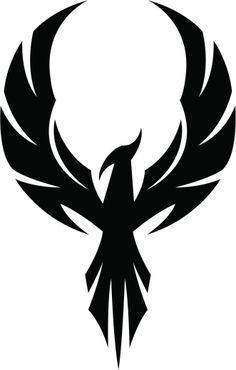 phoenix symbol at DuckDuckGo Phoenix Artwork, Phoenix Images, Phoenix Vector, Cool Symbols, Phoenix Tattoo Design, Tribal Phoenix Tattoo, Sword Tattoo, Rise From The Ashes, Cartoon Tattoos